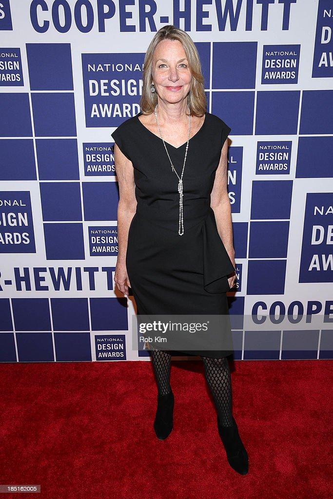 Paula Scher attends the 2013 Cooper-Hewitt National Design Awards at Pier 60 on October 17, 2013 in New York City.