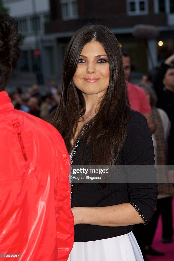 Paula Seling of Romania arrives on the pink carpet at the Eurovision Official Welcome Reception on May 23, 2010 in Oslo, Norway. In all, 39 countries will take part in the 55th Annual Eurovision Song Contest. Semi-finals are scheduled to take place on May 25-27, with the Final being held on May 29, 2010.