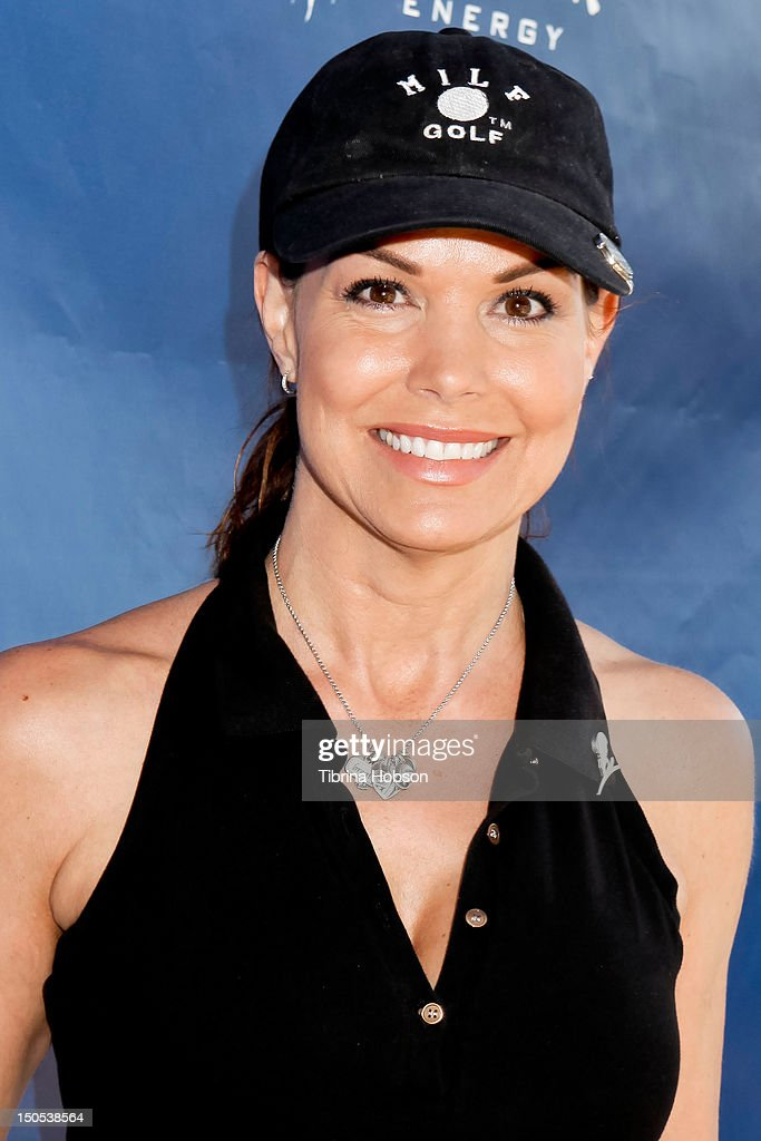 Paula Trickey attends the Robby Krieger and Scott Medlock Celebrity Golf Classic benefiting St Jude's Children's Research Hospital on August 20 2012...