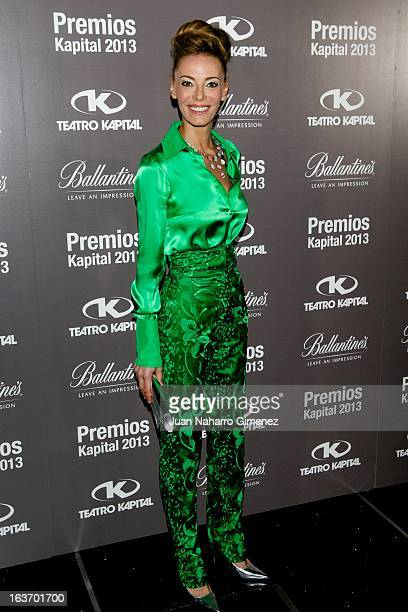 Paula Vazque attends the 'XI Teatro Kapital Awards' at Teatro Kapital on March 14 2013 in Madrid Spain