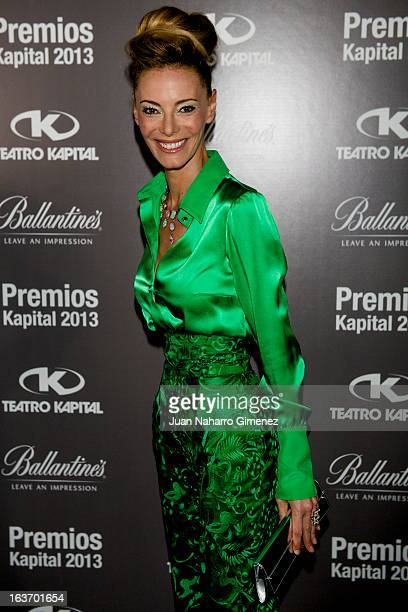 Paula Vazque attends 'XI Teatro Kapital Awards' at Teatro Kapital on March 14 2013 in Madrid Spain