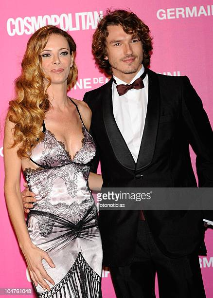 Paula Vazquez and Pepe Munoz attend Cosmopolitan 20th Anniversary Party at the Circulo de Bellas Artes on October 4 2010 in Madrid Spain