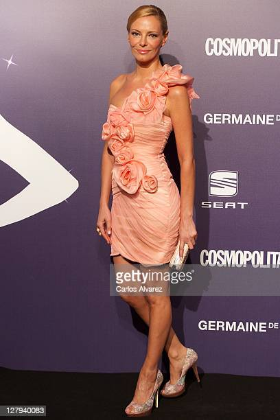 Paula Vazquez attends 'Cosmopolitan Fun Fearless Female' awards 2011 at the Ritz Hotel on October 3 2011 in Madrid Spain