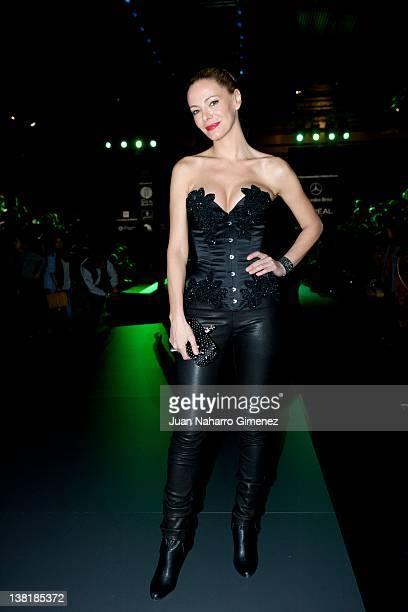 Paula Vazquez attends Maya Hansen show during MercedesBenz Fashion Week Madrid A/W 2012 at Ifema on February 4 2012 in Madrid Spain