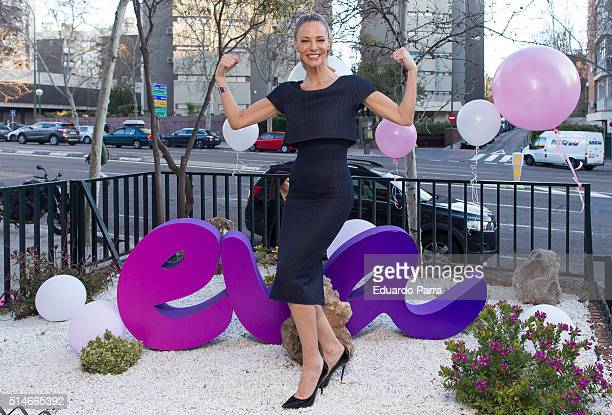 Paula Vazquez attends the Health Party photocall at Eva clinic on March 10 2016 in Madrid Spain