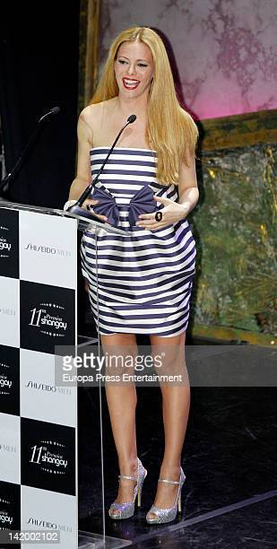 Paula Vazquez attends the Shangay Awards 2012 Show on March 27 2012 in Madrid Spain