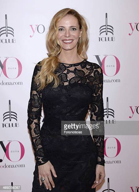 Paula Vazquez attends 'Yo Dona' magazine party at Barcelo theater on February 13 2014 in Madrid Spain