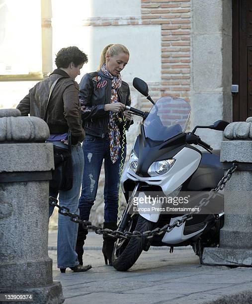 Paula Vazquez is seen on November 22 2011 in Madrid Spain