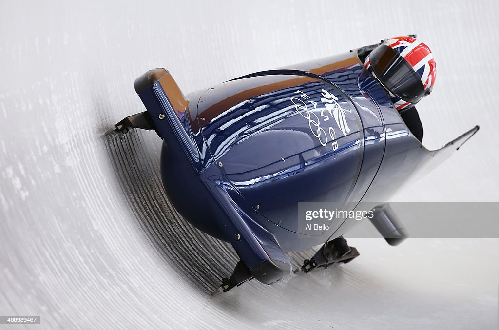 <a gi-track='captionPersonalityLinkClicked' href=/galleries/search?phrase=Paula+Walker+-+Bobsleigh&family=editorial&specificpeople=12457486 ng-click='$event.stopPropagation()'>Paula Walker</a> and Rebekah Wilson of Great Britain practise a bobsleigh run ahead of the Sochi 2014 Winter Olympics at the Sanki Sliding Center on February 5, 2014 in Sochi, Russia. Photo by Alex Livesey/Getty Images)