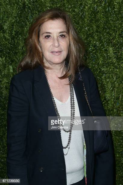 Paula Weinstein attends the CHANEL Through Her Lens Women's Lunch at Odeon on April 21 2017 in New York City
