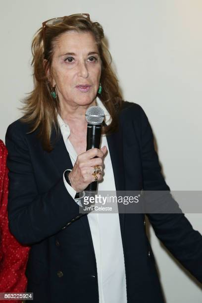 Paula Weinstein attends Through Her Lens The Tribeca Chanel Women's Filmmaker Program Cocktail at Smyth Hotel on October 19 2017 in New York City