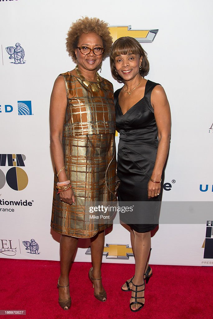 Paula Williams Madison (L) attends the 2013 EBONY Power 100 List Gala at Frederick P. Rose Hall, Jazz at Lincoln Center on November 4, 2013 in New York City.
