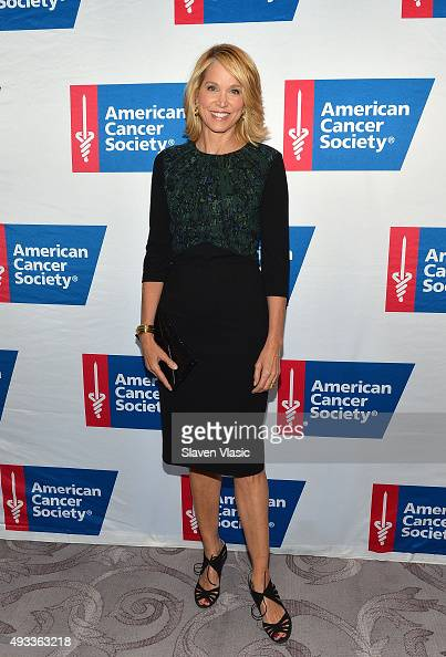 Paula Zahn attends American Cancer Society's 20th Anniversary Mothers of the Year luncheon at The St Regis New York on October 19 2015 in New York...