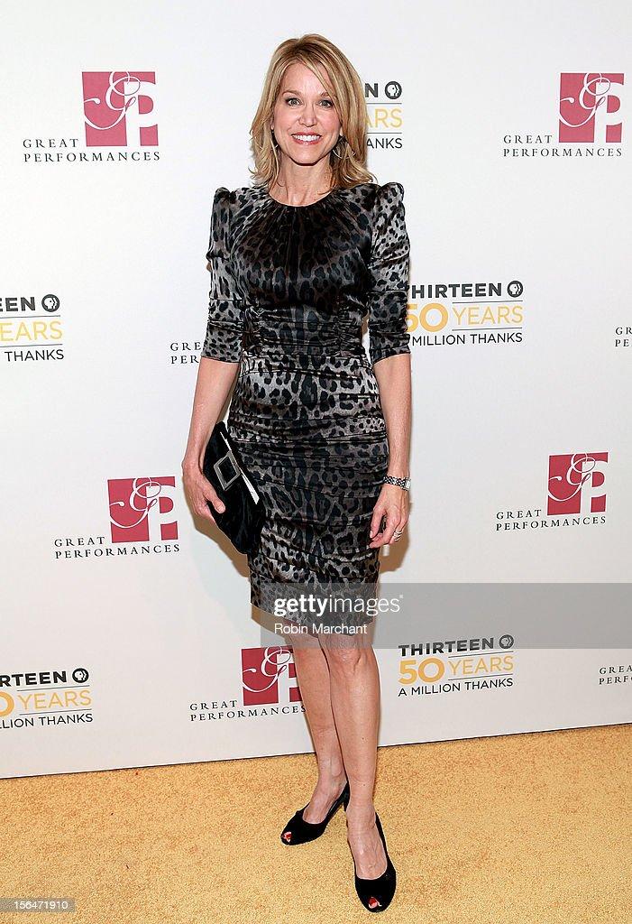 Paula Zahn attends the THIRTEEN 50th Anniversary Gala Salute at David Koch Theatre at Lincoln Center on November 15, 2012 in New York City.