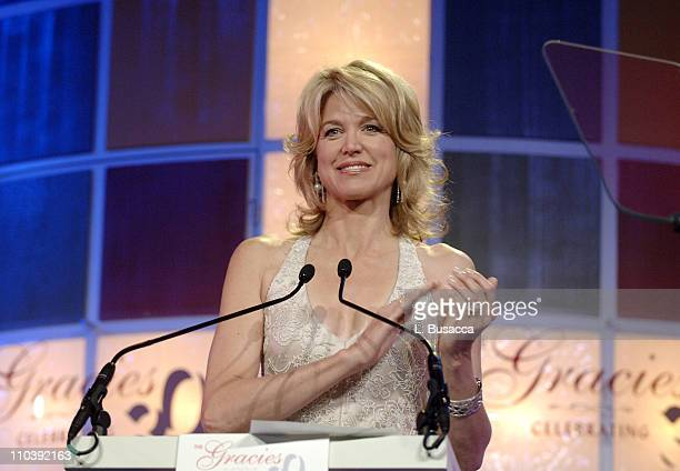 Paula Zahn during American Women in Radio Television 30th Annual Gracie Allen Awards Show at New York Marriot Marquis Hotel in New York City New York...