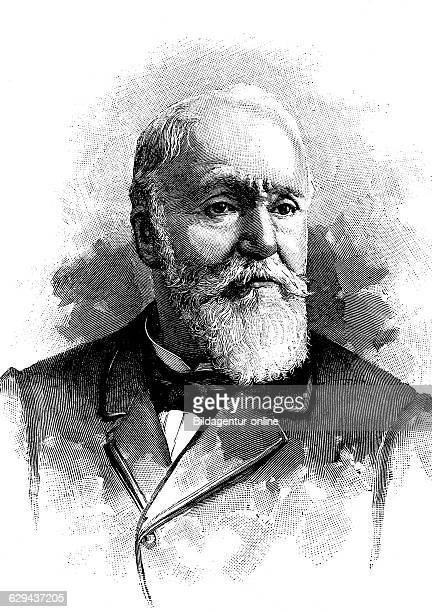 Paularmand challemellacour 1827 1896 french politician and president of the senate historical illustration circa 1893