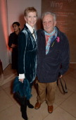 Paulene Stone and David Bailey attend a private view of Bailey's Stardust a exhibition of images by David Bailey supported by Hugo Boss at the...