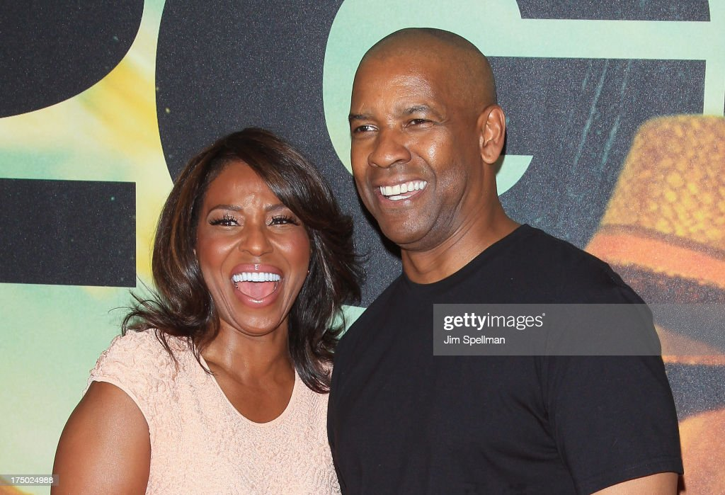 Pauletta Pearson Washington and actor Denzel Washington attend the '2 Guns' New York Premiere at SVA Theater on July 29, 2013 in New York City.