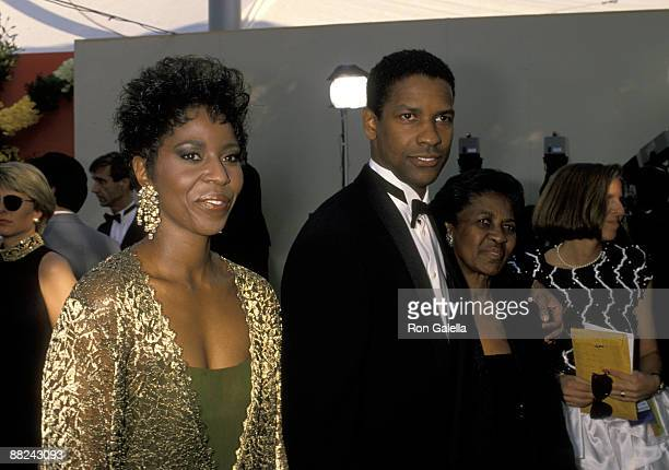Pauletta Washington Denzel Washington and mother