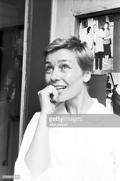 Paulette Riva called Emmanuelle Riva French actress born in Chenim��nil Ca 1955