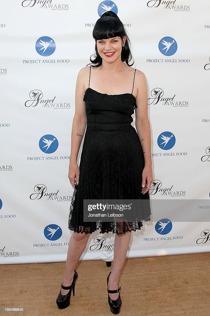 Pauley Perrette attends the Project Angel Food's Annual Summer Soiree at Project Angel Food on August 18, 2012 in Los Angeles, California.