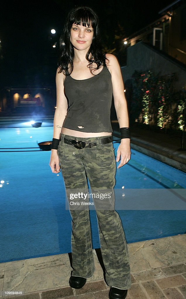 <a gi-track='captionPersonalityLinkClicked' href=/galleries/search?phrase=Pauley+Perrette&family=editorial&specificpeople=625846 ng-click='$event.stopPropagation()'>Pauley Perrette</a> during Belvedere Vodka Hosts the Second 'Rock Star: INXS' Mansion Jam at Private Residence in Los Angeles, California, United States.