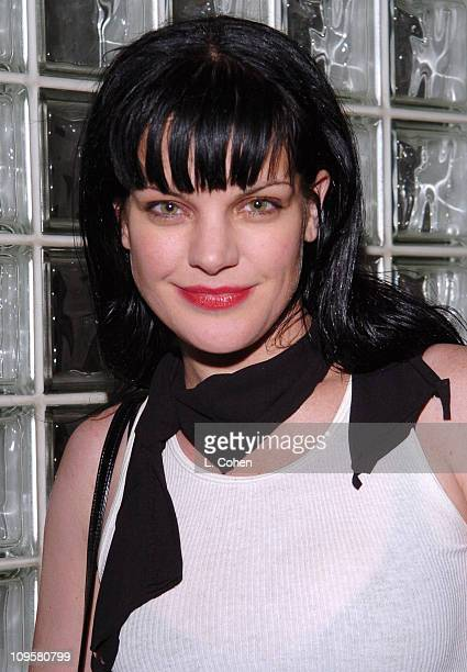 Pauley Perrette during Volkswagen 2006 Annual Hollywood Party at Getty Center in Los Angeles California United States