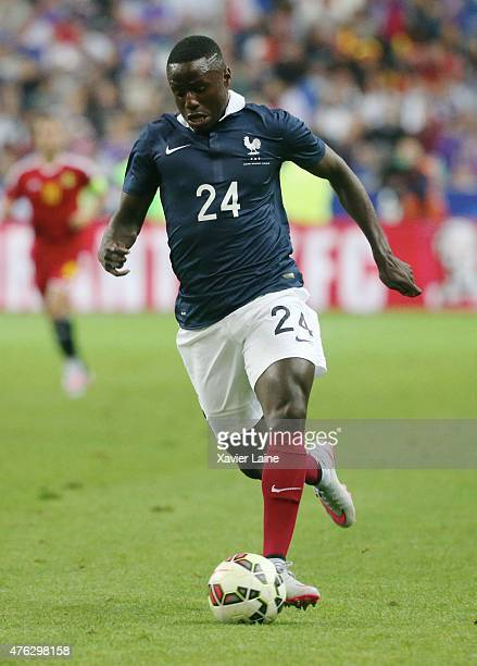 PaulGeorges Ntep of France in action during the International Friendly games between France and Belgium at Stade de France on june 7 2015 in Paris...