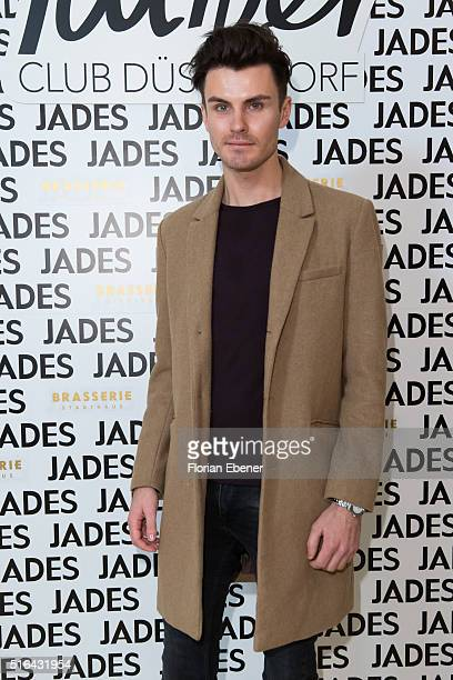 PaulHenry Duval attends a meet and greet at Jades on March 18 2016 in Duesseldorf Germany