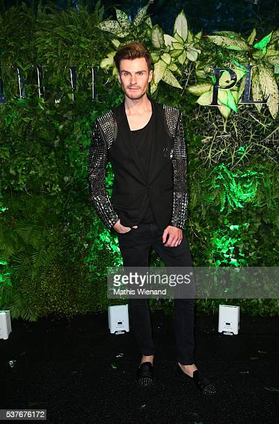 PaulHenry Duval attends the Philipp Plein Store Event on June 2 2016 in Duesseldorf Germany