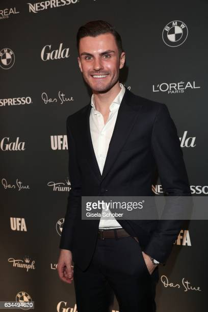 PaulHenry Duval during the Berlin Opening Night by GALA and UFA Fiction at hotel 'The Stue' on February 9 2017 in Berlin Germany