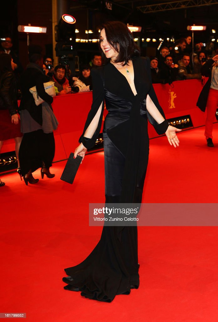 Paulina Garcia attends the Closing Ceremony of the 63rd Berlinale International Film Festival at Berlinale Palast on February 14, 2013 in Berlin, Germany.