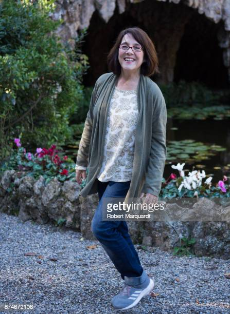 Paulina Garcia poses for the press on the set of her latest film 'Matar al Padre' on November 15 2017 in Barcelona Spain