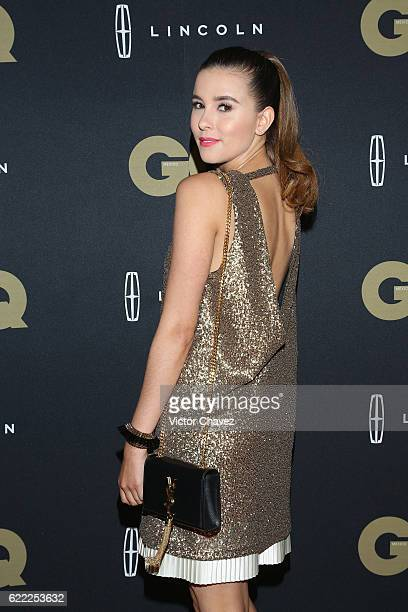 Paulina Goto attends the GQ Men Of The Year Awards 2016 at Torre Virrelles on November 9 2016 in Mexico City Mexico