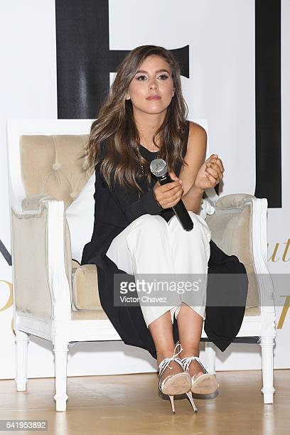 Paulina Goto attends the Pantene 3 Minute Miracle launch at Polanco on June 21 2016 in Mexico City Mexico