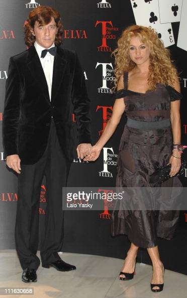 Telva fashion awards stock photos and pictures getty images for Blanca vallejo