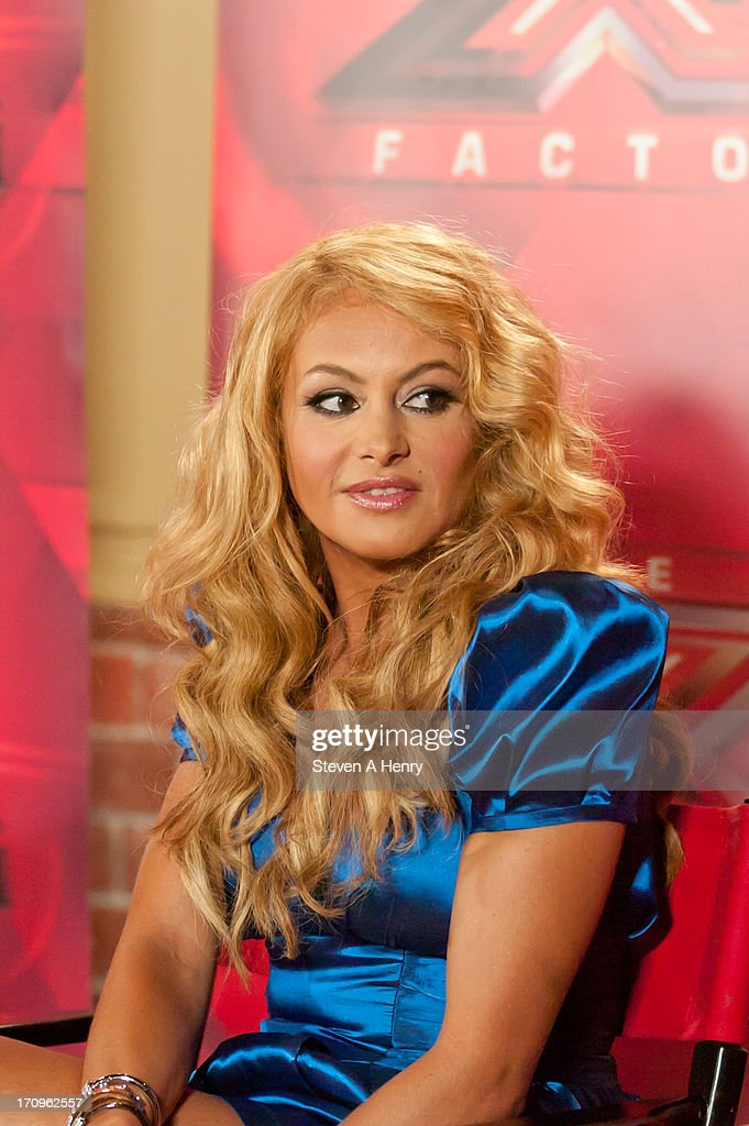 Paulina Rubio attends the 'The X Factor' Judges press conference at Nassau Veterans Memorial Coliseum on June 20, 2013 in Uniondale, New York.