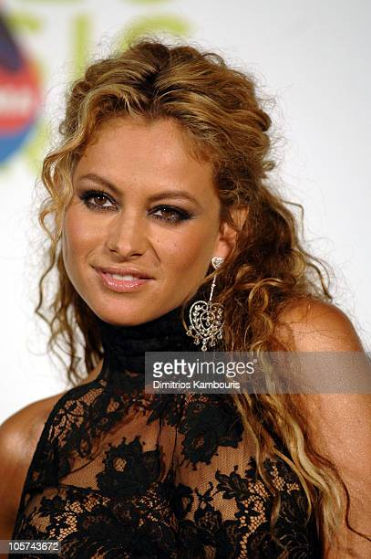 Paulina Rubio during 2005 MTV Video Music Awards Press Room at American Airlines Arena in Miami Florida United States