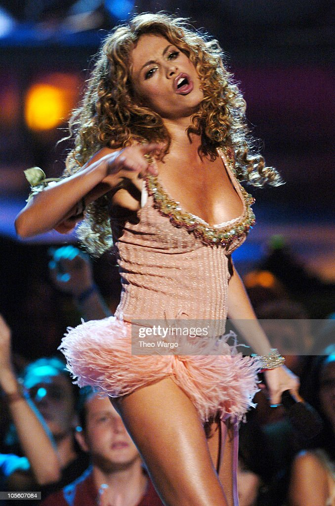 Paulina Rubio during MTV Video Music Awards Latin America 2004 - Show at Jackie Gleason Theater in Miami, Florida, United States.
