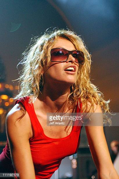 Paulina Rubio during MTV Video Music Awards Latinoamerica 2002 Rehearsals Day 3 at Jackie Gleason Theater in Miami FL United States