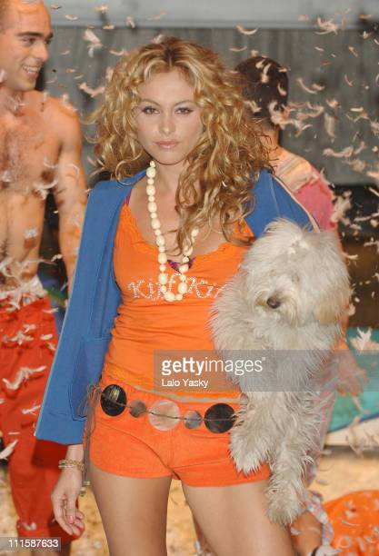 Paulina Rubio during Paulina Rubio Launches Kiff Kiff Spring/Summer Collection at Florida Park Club in Madrid Spain