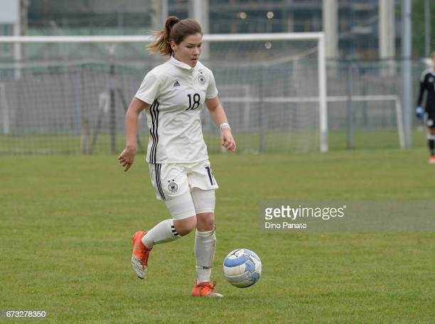 Pauline Berning of Germany women's U16 in action during the 2nd Female Tournament 'Delle Nazioni' match between Germany U16 and Italy U16 at Stadio...