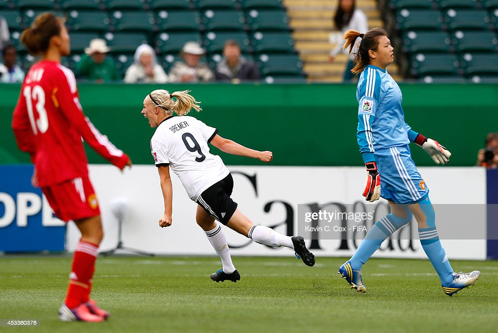 Germany v China PR: Group B - FIFA U-20 Women's World Cup Canada 2014