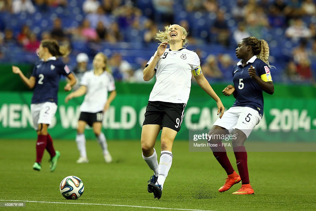 Germany v France: Semi Final - FIFA U-20 Women's World Cup Canada 2014