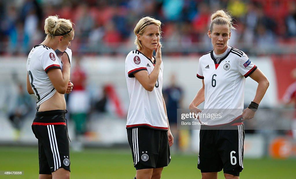 Germany v Hungary - UEFA Women's Euro 2017 Qualifier