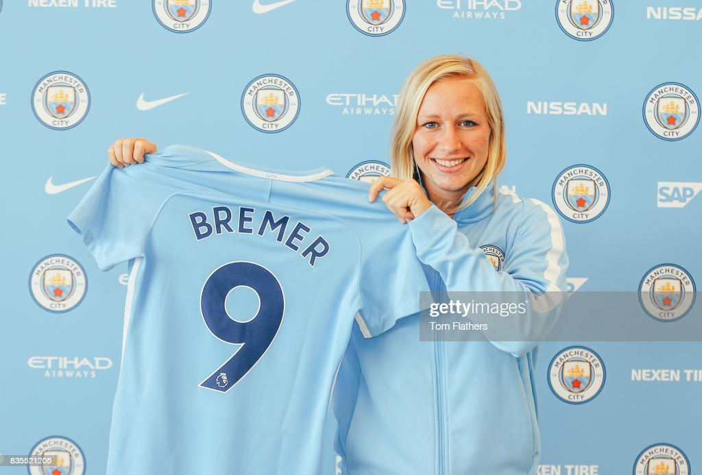 Manchester City Women Unveil New Signing Pauline Bremer