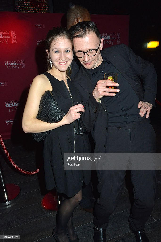 Pauline Brunner and Vincent Patar attend the Cesar Film Awards 2013 after party at the Club 79 on February 22, 2013 in Paris, France.