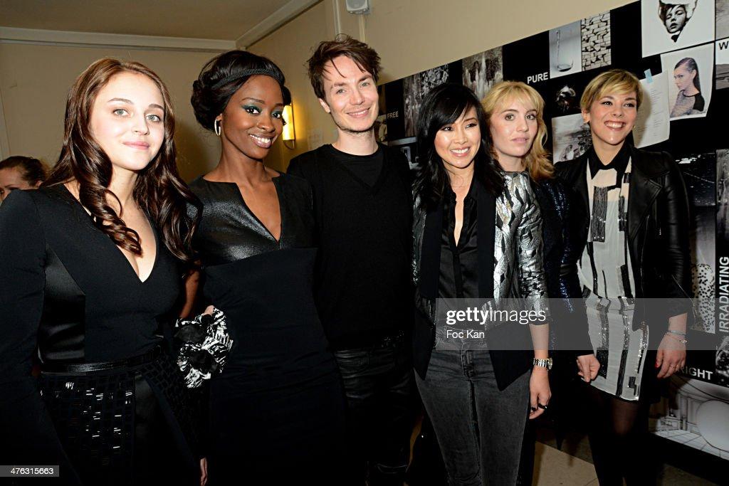 Maxime Simoens : Front Row  - Paris Fashion Week Womenswear Fall/Winter 2014-2015