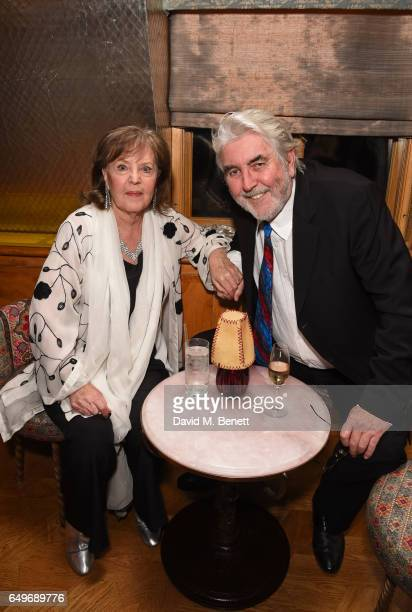 Pauline Collins and John Alderton attend the World Premiere after party for 'The Time Of Their Lives' at 5 Hertford Street on March 8 2017 in London...