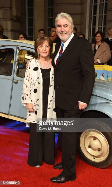 Pauline Collins and John Alderton attend the World Premiere of 'The Time Of Their Lives' at The Curzon Mayfair on March 8 2017 in London England